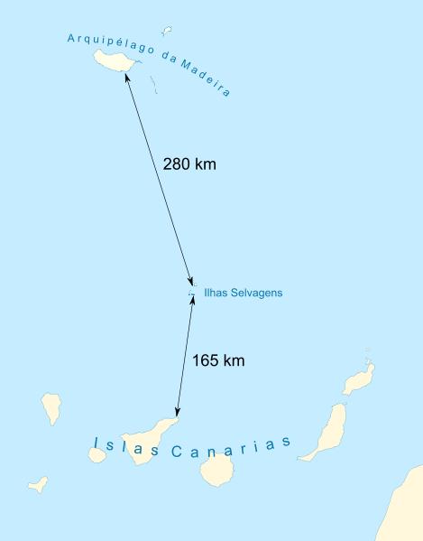 ilhas-selvagens-karte