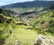 Blick ins Tal von Machico