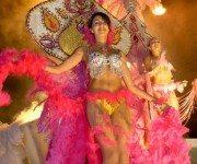 Sambatänzerin beim Karneval auf Madeira (Bild: Tourismo da Madeira)