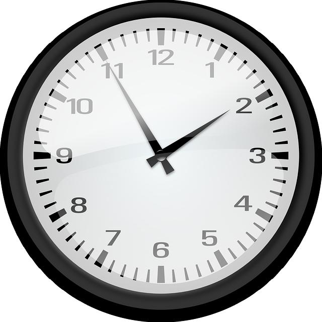 Uhr - Öffnungszeiten