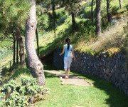 Barfusspfad oberhalb Madeiras Küste