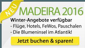 Madeira 2016 Winter Angebote