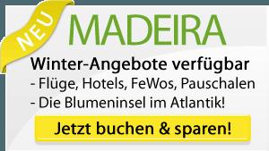 Madeira Winter Angebote