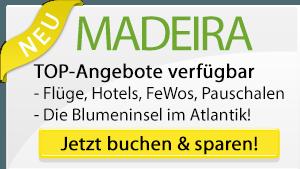 Madeira Urlaub Angebote